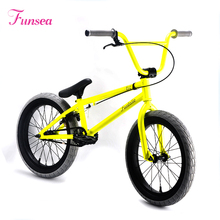 "Alloy U brake neon yellow 18"" X 2.25"" tyre cheap price child kids mini bmx bicycle custom bmx freestyle bikes bmx bike"