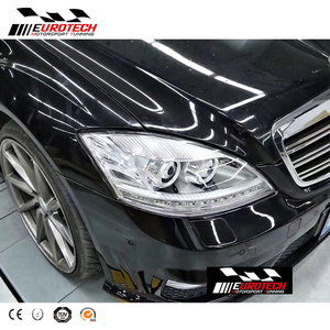 S-class W221 S65 style body kit front rear bumper fitting for MB S-class  w221 S350 S400 S500 bumpers