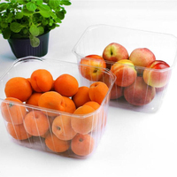 disposable fruit punnet clamshell