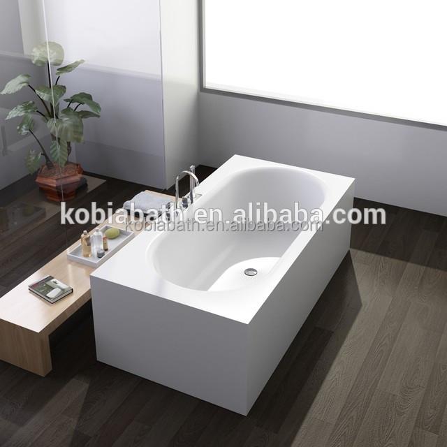 Acrylic Stone Solid Surface Oasis Bathtubs