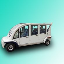 6 seat Electric passenger vehicle with aluminum hard door, EG6063KBF