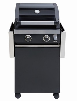 2 Burner Commercial Gas Bbq Grill Portable Bbq Stand