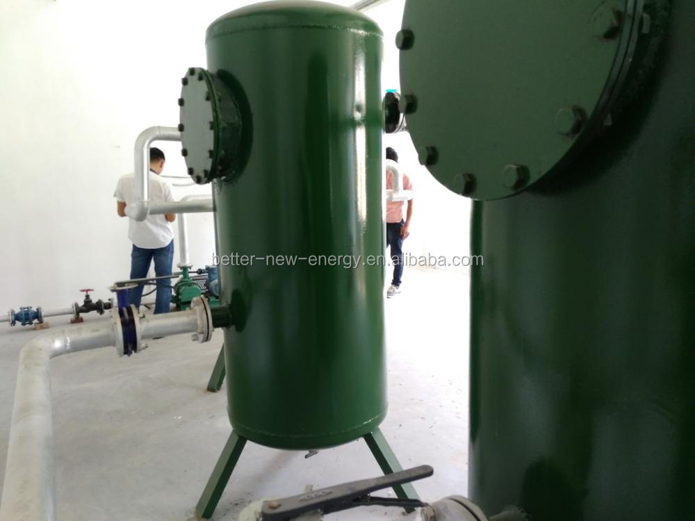 Biogas Scrubber for Vapour & H2S remove / High efficiency Dehydration & Desulfurization Tower for biogas purification