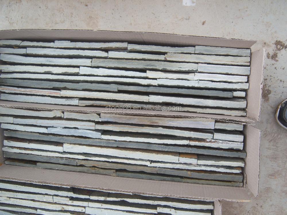 소박한 문화 슬레이트 벽 클래딩/장식 슬레이트 문화 바위 돌 ...