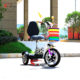 Foldable Zappy 3 Wheel Electric Scooter CE-approved three wheel mobility scooter with seat