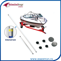 Boat Cover Support Pole System