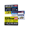 australia electrical&plumbing advertising fridge magnet