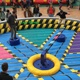 inflatable meltdown game jumping Inflatable bouncer sports game for adults