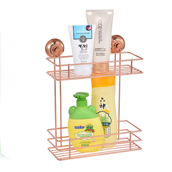Suction Cup Wire Basket Shelf,adhesive Bathroom Shelf For Sale