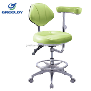 best quality foot controlled dental stool build-in high rebound sponge