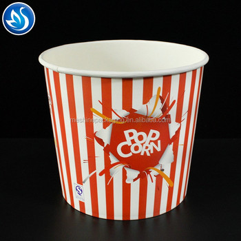 Disposable paper fried chicken bucket