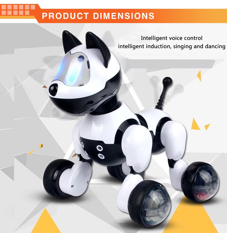 Education Talking Dog Battery Operated Toy Robot Dog Toy