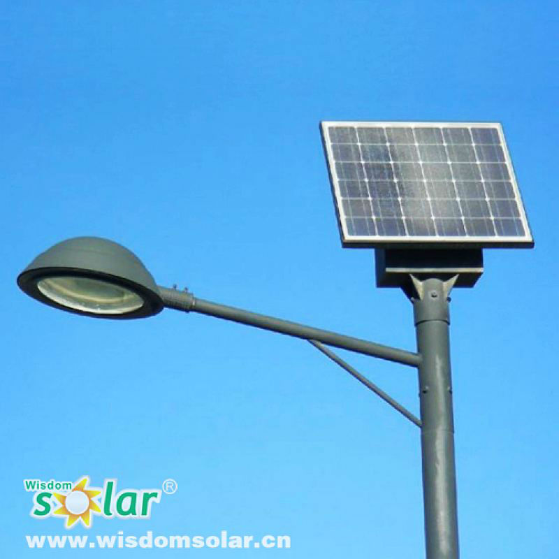 CE and IP65 approved solar power energy street light pole with high quality stainless steel
