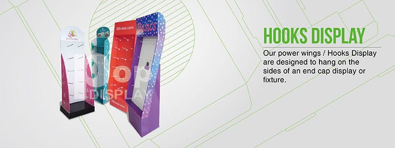 Custom made paperboard counter display with good quality