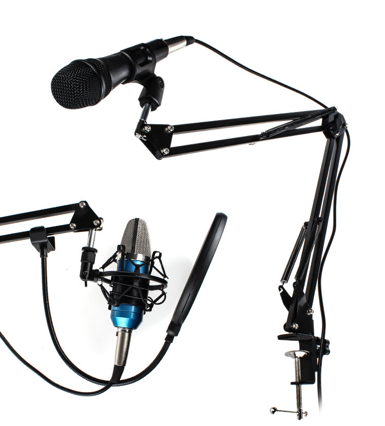 Good Material Mic Swivel Mount Microphone Boom Arm Suspension Scissor Stand For Blue Yetis