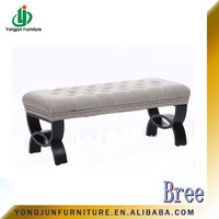Long Sitting Bench,Fabric Bench,Furniture For Shoe Store