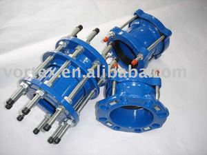 Wide Range Coupling for DI PVC Pipe