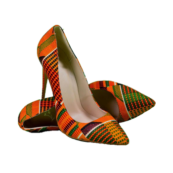 aff113bbccb0d Handmade Shoes Women Sexy African Shoes Ankara Stiletto Pump Footwear - Buy  Women Sexy Dress Shoes,Women Ankara Shoes,Women African Shoes Product on ...