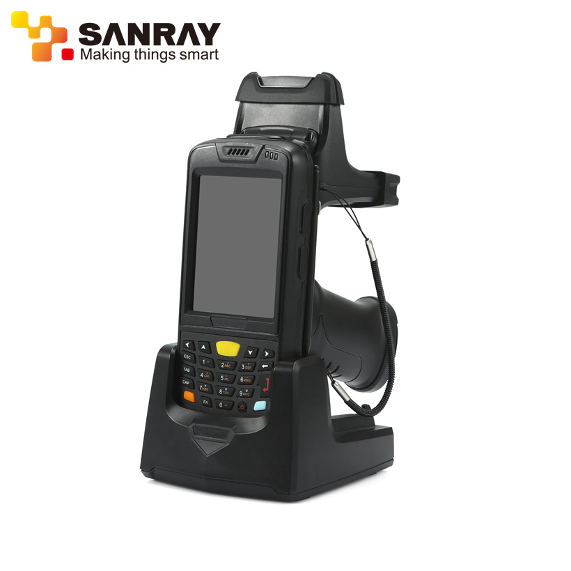 2019 Hot sales Windows ce 6.0 rfid card scanner/handheld uhf rfid scanner