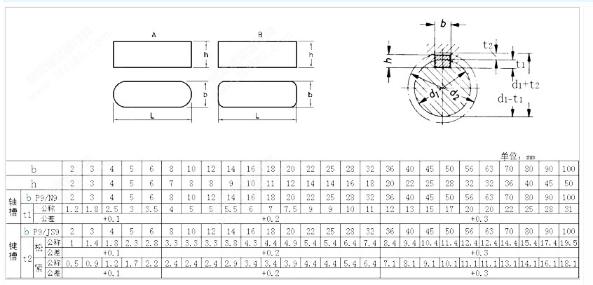 Hot Sale Din 6885 Form A Parallel Keys Sus305 Parallel