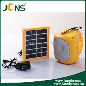 JCN durable luci inflatable solar lantern with cell phone charger