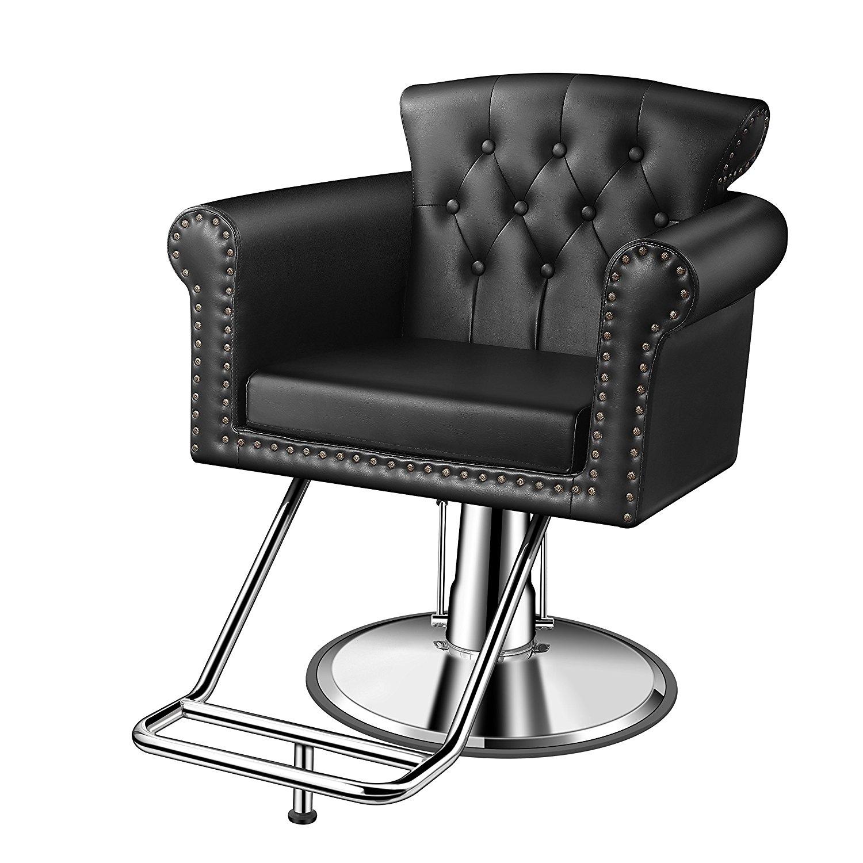 Buy Baasha Styling Salon Chair With Hydraulic Pump, Footrest
