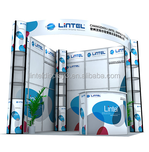 Portable booth design trade show display LT-ZH014