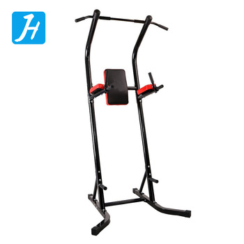 Body Champ Chin Up Stand Pull Up Bar Dip Power Tower Home Gym