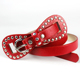 Fashion Girlfriend Faux Leather Gift Ideas Bow Skinny Waistband Belt