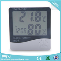 Switchable degrees Celsius/Fahrenheit thermometer hygrometer digital with detecting wire