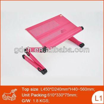 Personal Portable Folding Laptop Table Adjustable Swivel Laptop Desk Table