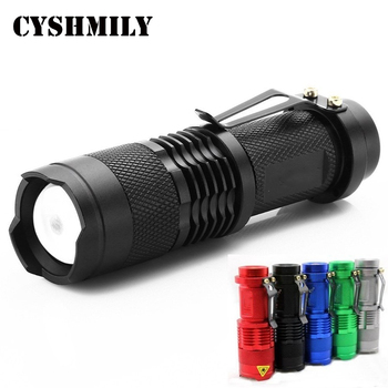 CYSHMILY SK68 dimming xml-Q5 mini head torch 14500 battery outdoor rechargeable high power pocket led flashlight