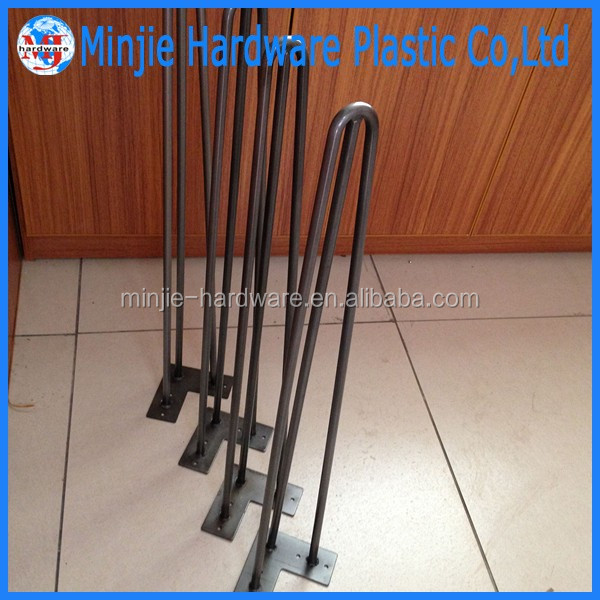Hecho en China fábrica de muebles material de metal patas de la ...