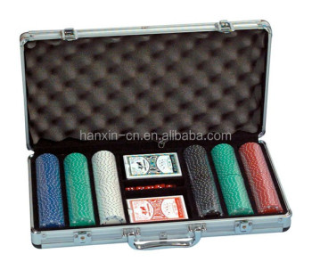 Casino Aluminum premium cheap 300 poker chip set