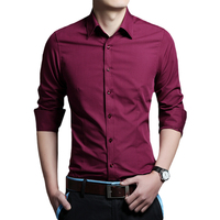 Hot sale cheap shirts men's casual dress shirts