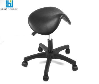 wholesale price high quality saddle stool salon saddle stool horse saddle chair