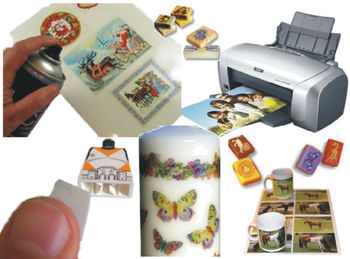 Water Slide Decal Paper For Soap/ Candle / Craft Making / Models/ Tiles -  Buy Water Slide Transfer Paper Product on Alibaba com