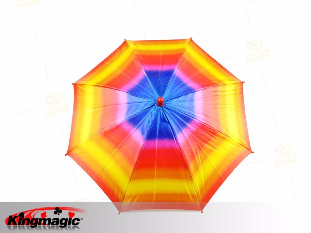 Russia magic tricks Colorful Umbrella(Small) magic wholesale best quality stage magic props