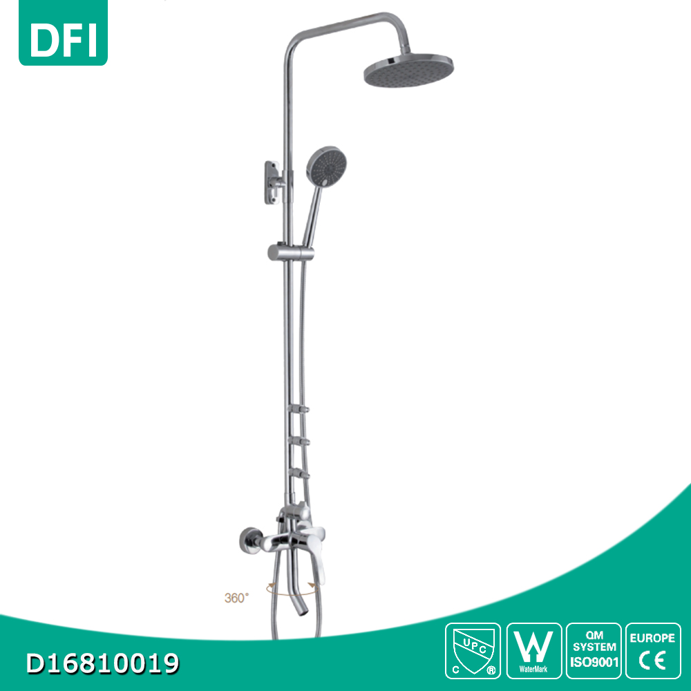 Chrome brass shower faucet Australian standard shower