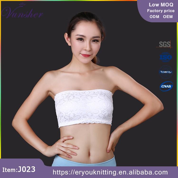d3aa4696151f Sexy Women Strapless Lace Bandeau Sport Bra - Buy Women s ...