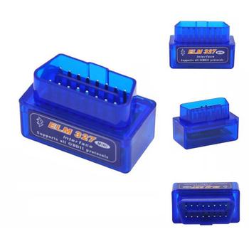 Super Mini Elm327 Bluetooth Obd2 V2 1 Elm 327 V 2 1 Android Adapter Car  Scanner Obd 2 Elm-327 Obdii Auto Diagnostic Tool Scanner - Buy Super Mini