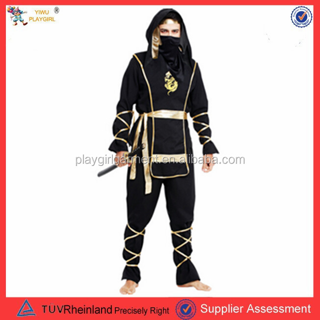PGMC0919 Top quality carnival costumes ninja costume wholesale sex costumes for men