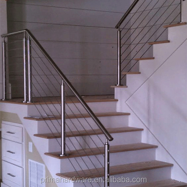 Prima Stainless Steel Staircase Railing Price India Cable Rail Components
