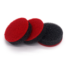 Factory hot sale sponge cleaning brush pad for bathroom
