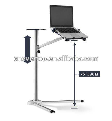 Carrinho do port til cama mesa notebook mesas de metal id for Mesa para ordenador portatil