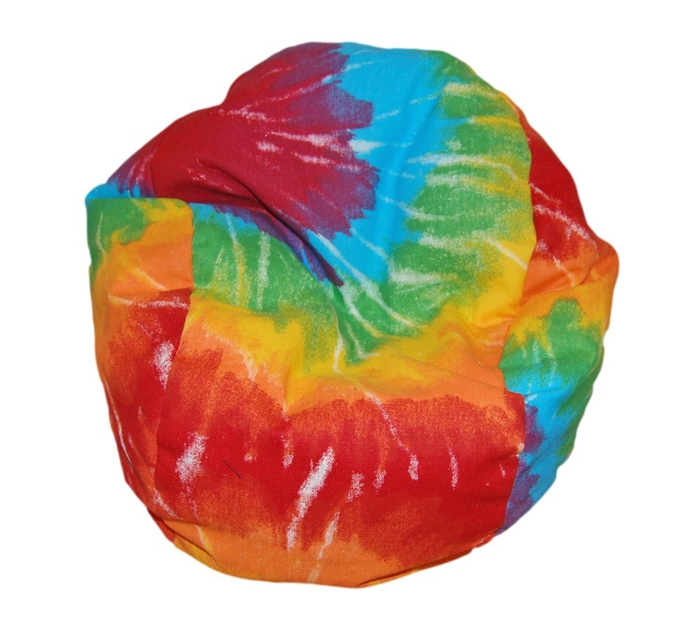 Genial Ahh! Products Tie Dye Rainbow Bean Bag Chair For Dolls