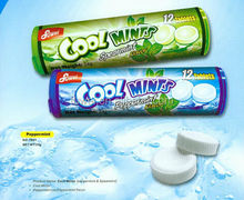 12pieces press candy cool mint candy