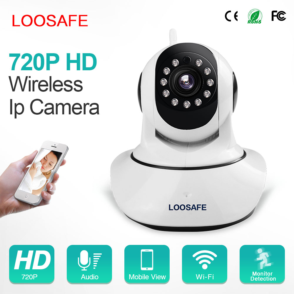 IP camera wifi wireless camera video hd 720p ir night vision mini indoor security camera
