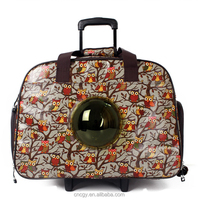 New Design Pet Products Innovative Patent Astronaut Capsule Sturdy Dog Cat Carrier Bag