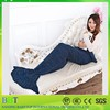 7 Colors Yarn Knitted Mermaid Tail Blanket Super Soft Sleeping Bed Handmade Crochet Anti-Pilling Portable Blanket